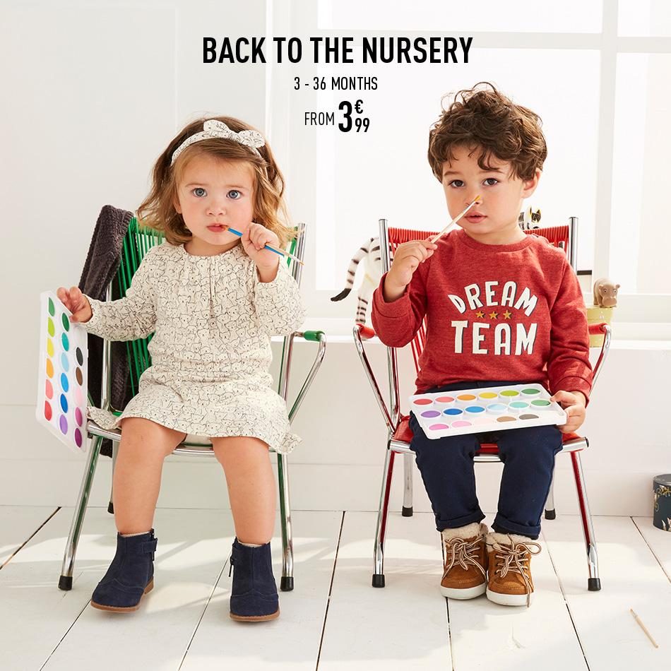 Back to the nursery
