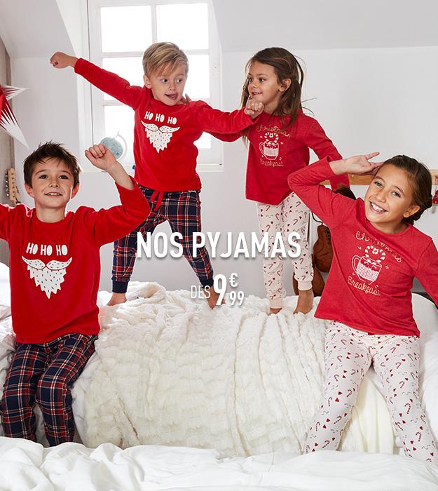 Nos pyjamas