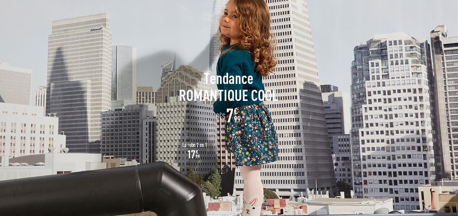 Tendance Romantique Cool dès 7€99