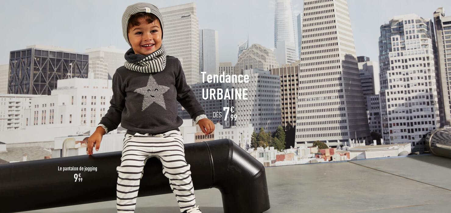 Tendance Urbaine dès 7€99