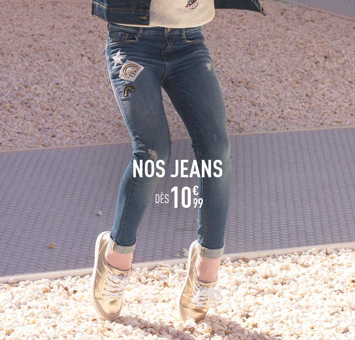 Vêtements Fille - La Mode Fille de 2 ans à 14 ans   Tape à l Oeil fc24204d997