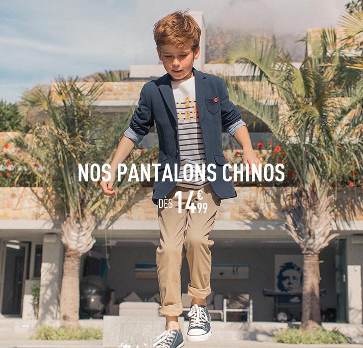 Nos pantalons chinos