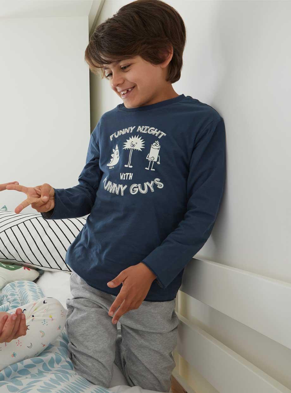 Le pyjama phosphorescent réversible
